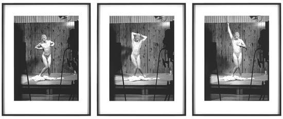 保罗·麦卡锡(Paul McCarthy),《实验性舞者》(表演,洛杉矶,1975年)(Experimental Dancer)(Performance, Los Angeles, 1975),1998,黑白照片 第2版 共6版,82 x 67 厘米 / 32 x 26 英寸。图片:豪瑟沃斯