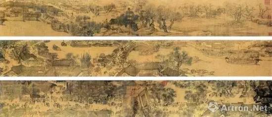 ● 北宋张择端《清明上河图》