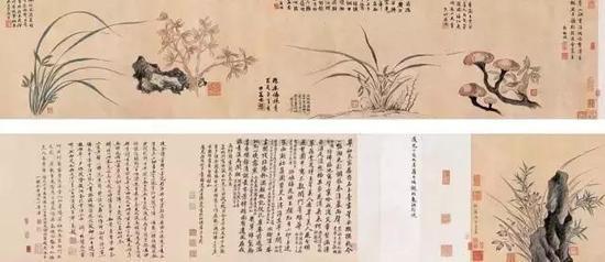 马湘兰《花鸟图》