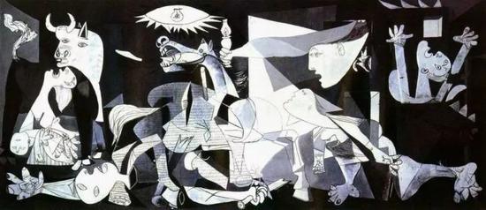 毕加索《格尔尼卡》,1937年