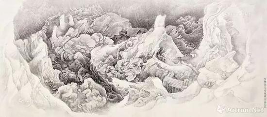 刘丹 山原的凝视 成交价:1003万港币