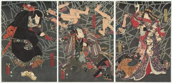 Minamoto no Yorimitsu and Tsuchigumo |<img src=