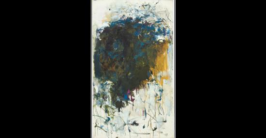 琼・米歇尔,《无题》 (Untitled),1964。图片:致谢富艺斯