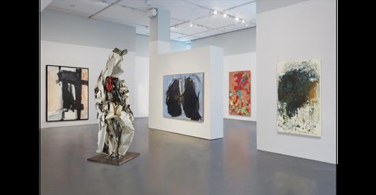 2017纽约富艺斯20世纪及当代艺术晚间拍卖预展,2017。图片:致谢纽约富艺斯
