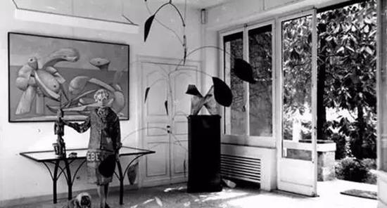 佩姬在威尼斯迎狮宫
