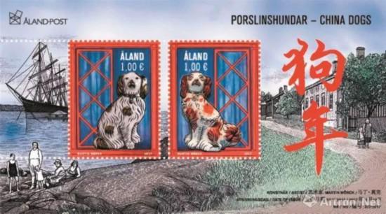 马丁·莫克 芬兰狗年邮票