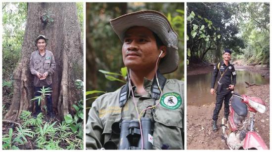WCS的干事、护林员和军警。