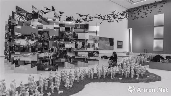 《城墙之外—2017西安当代艺术》西安展现场