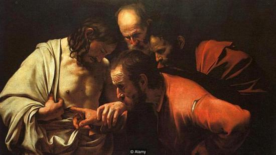 卡拉瓦乔《圣托马斯的疑惑》