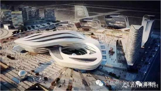 中国艺术品交易中心项目(中国艺术品产业博览会永久会址)效果图