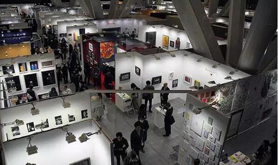 2018东京艺术博览会现场