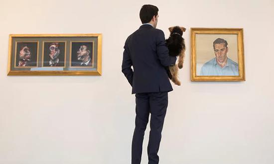 两幅肖像画揭示了20世纪最迷人的艺术家友谊之一。照片:《英国卫报》 David Levene