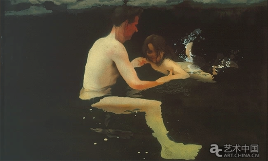 《梅拉尼和我在游泳》,迈克尔·安德鲁斯,1978年-1979年,私藏