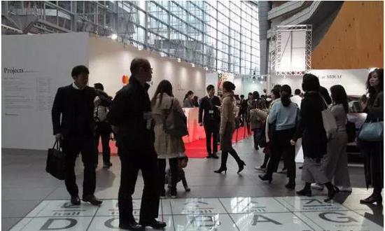 2018东京艺博会Lobby Gallery区域