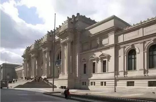 美国大都会艺术博物馆外景