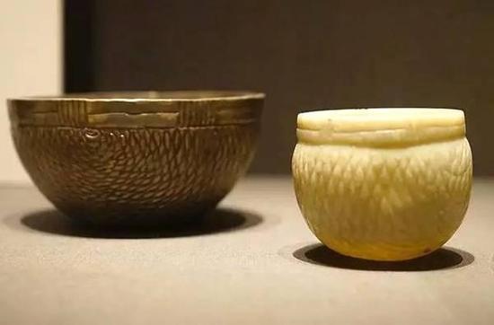 玉碗与银碗