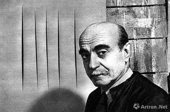 """""""一刀成名""""的极简艺术家Lucio Fontana (卢奇欧·封塔纳)"""