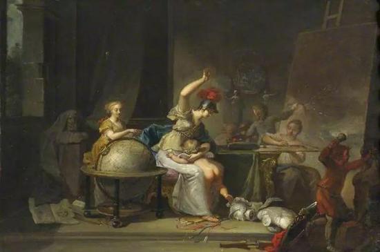 Johann George B?hmVenus Chastising Cupid