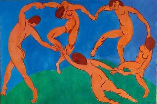 《舞蹈》1909