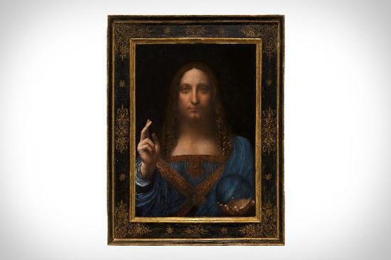 达·芬奇《救世主》创艺术拍卖新纪录
