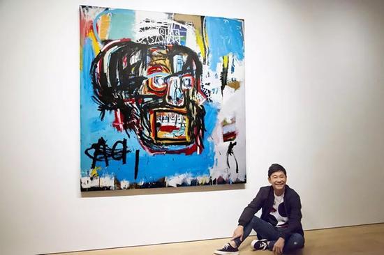 前泽友作和他拍卖的作品《无题》
