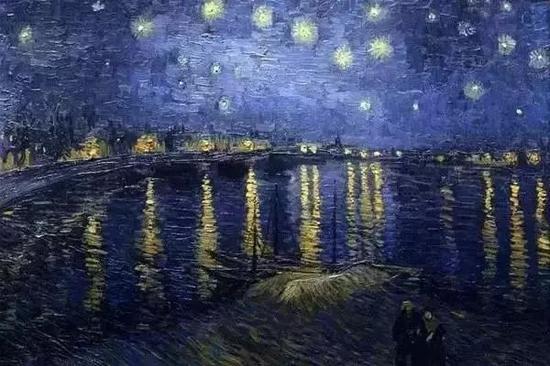 ?1888《隆河的星夜》