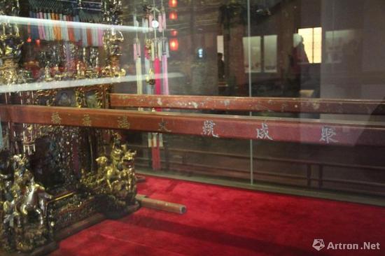 """这顶静静待在浙江省博物馆的""""万工轿""""属于""""聚成号""""轿行"""