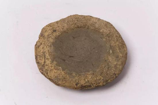随型石砚(秦)12.4X11.4X3.3cm