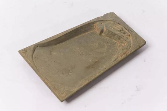 驰鹿石砚 (宋)16.2x11x1.5cm