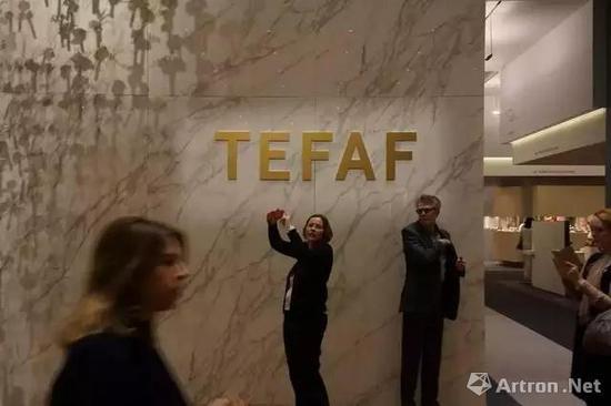 ▲TEFAF现场