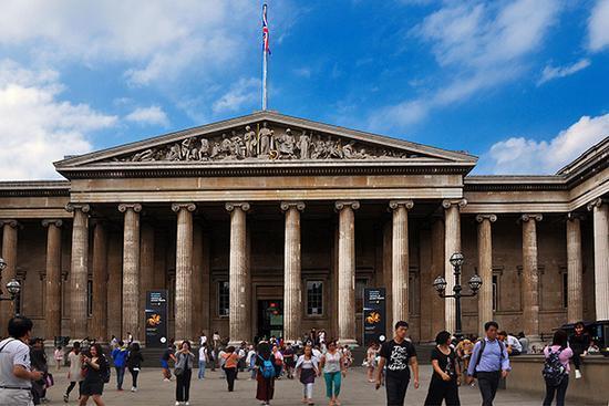 大英博物馆。视觉中国 资料图