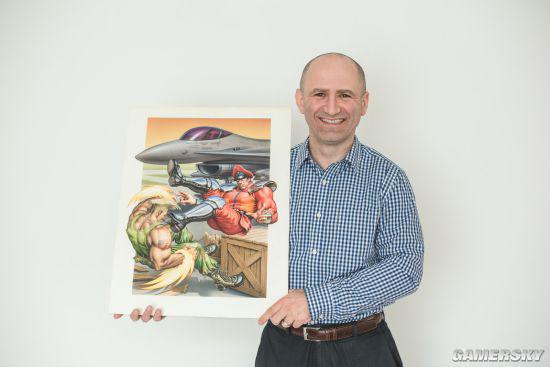 游戏收藏大拿Dan和他的《街霸2》艺术品