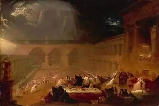 伯沙撒的盛宴 1821年