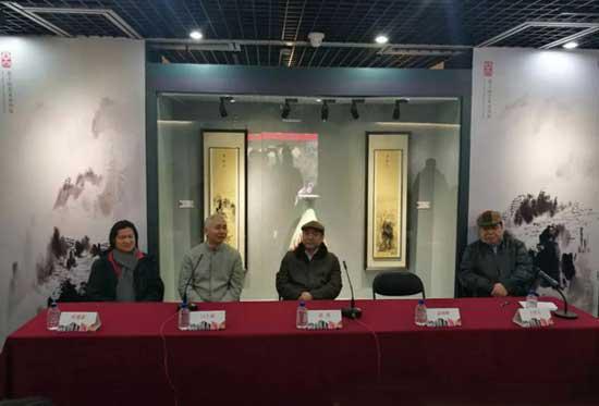 """出席""""丝路艺术——毕加索、叶建新中西文明艺术展""""新闻发布会嘉宾"""