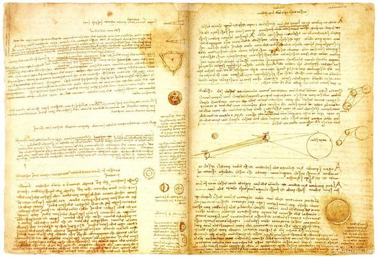 达·芬奇的《莱切斯特手稿》