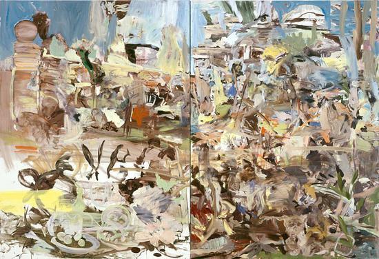 塞西・莉布朗,《花园》(Park),2004。图片:致谢富艺斯