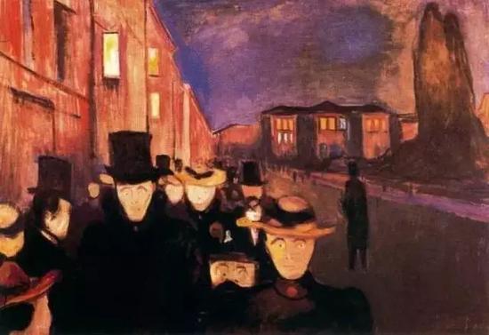 《卡尔约翰街的夜晚》