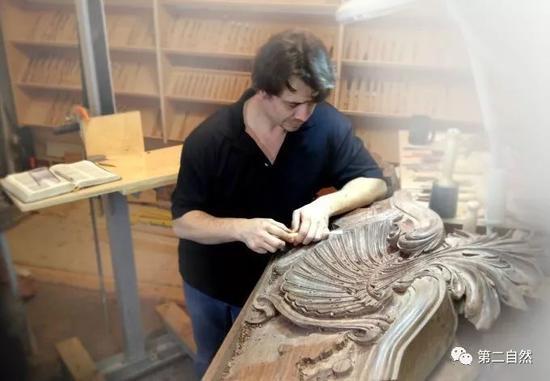 ☆手工雕刻家具装饰