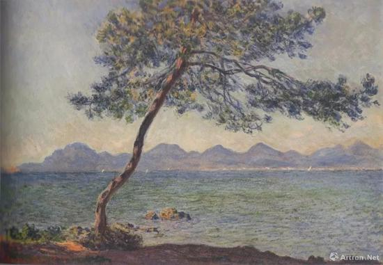Claude Monet, At Cape Antibes, 1888, oil on canvas, 65 x 92 cm, The Museum of Art, Ehime, p。 209