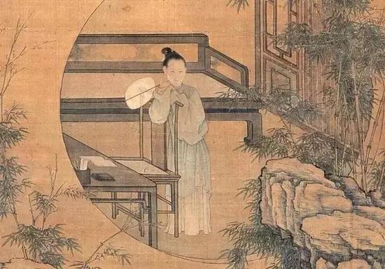 """顾横波,通晓文史,工于诗词,才貌双绝,有""""南曲第一""""之称。"""