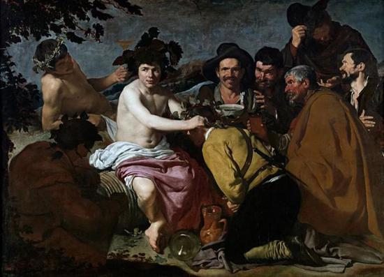 酒神巴库斯的凯旋 165 cm × 225 cm 布面油画 1628-1629