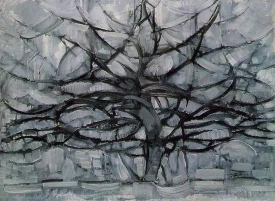 《灰色的树》1912