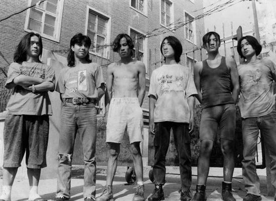 圆明园时期POP乐队(谁能认出哪个是吉他手朴树)