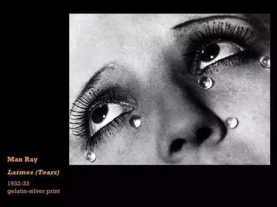 玻璃眼泪,1932 by Man Ray