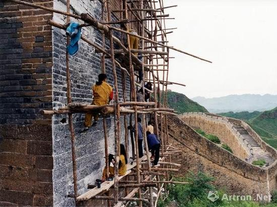 徐冰 《鬼打墙》 1990