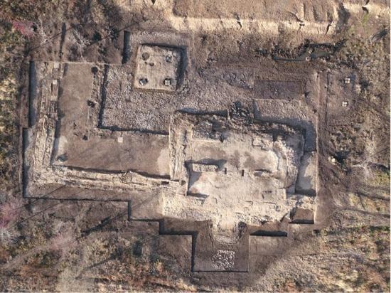 吉林宝马城遗址俯瞰图。(社科院考古所供图)