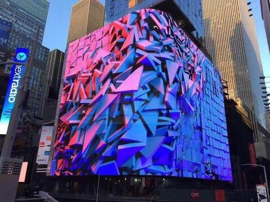 纽约时代广场户外LED显示屏