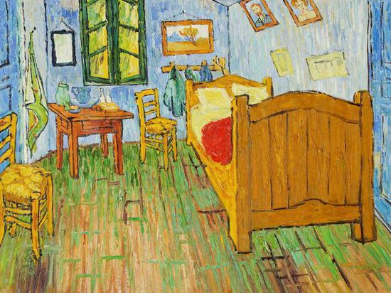 梵高《阿尔勒的卧室》