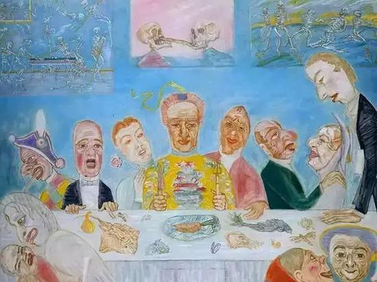 饥饿者的宴会 1915年
