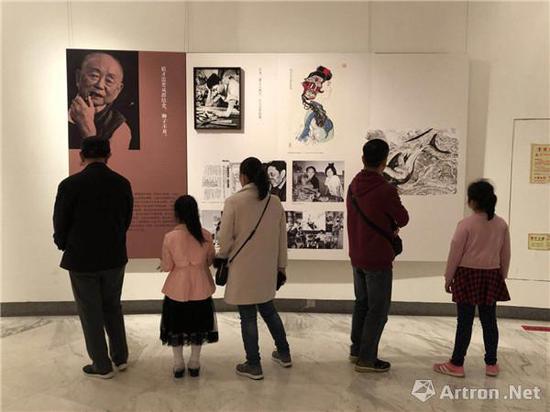 """""""二十世纪中国美术家的记忆——大雅宝胡同甲2号文献展""""现场"""